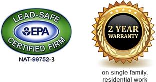 EPA logo & 2 year warranty icon